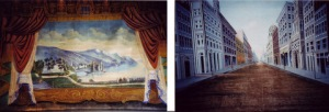 Main curtain & street scene